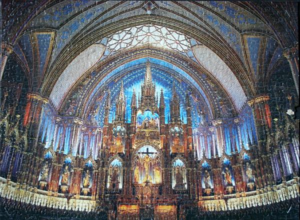 Notre-Dame Basilica, Montreal, med