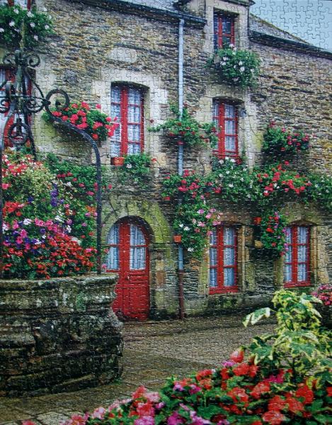Rochefort en Terre, Brittany, France, med
