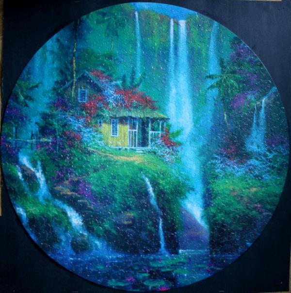 Round waterfall retake, med