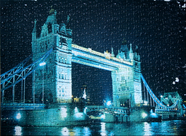 Tower Bridge, London, England, med