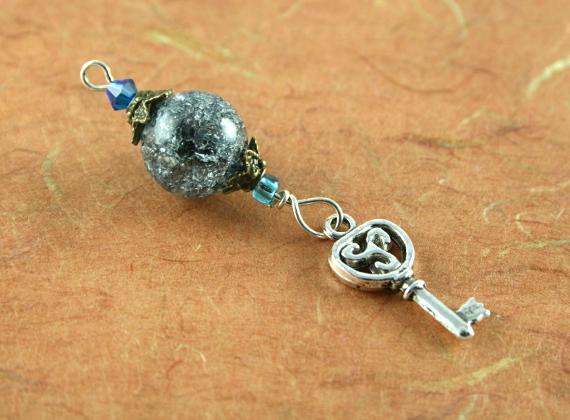 Blessingway bead - Night sky key, earth, md