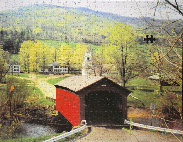 Covered bridge, med
