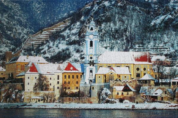 Durnstein, Austria, med
