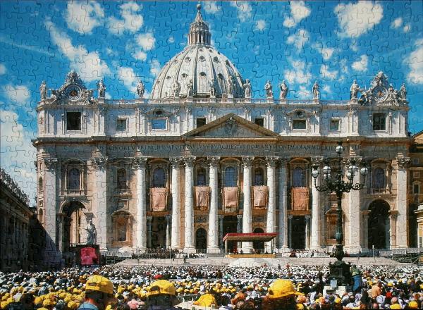 St. Peter's Basilica, med