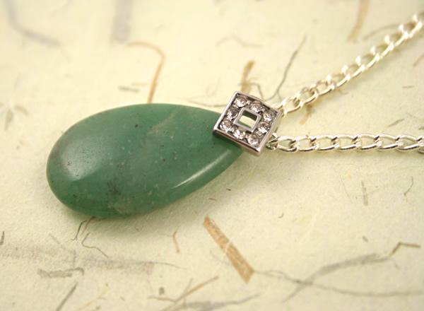 Jade mountain necklace, etsy, beige bg closeup, full, medium