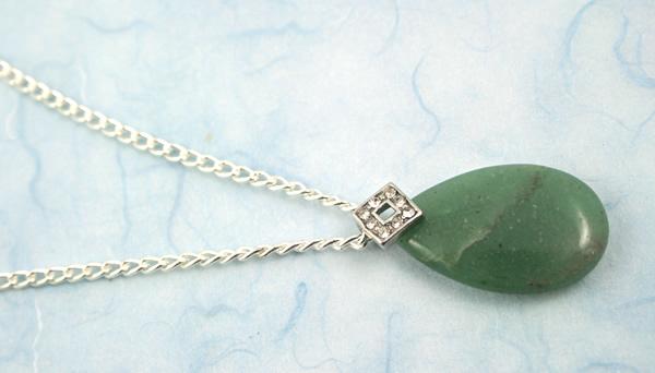 Jade mountain necklace, etsy, blue bg, medium