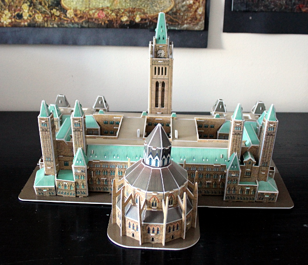 3D Parliament Puzzle - back, md