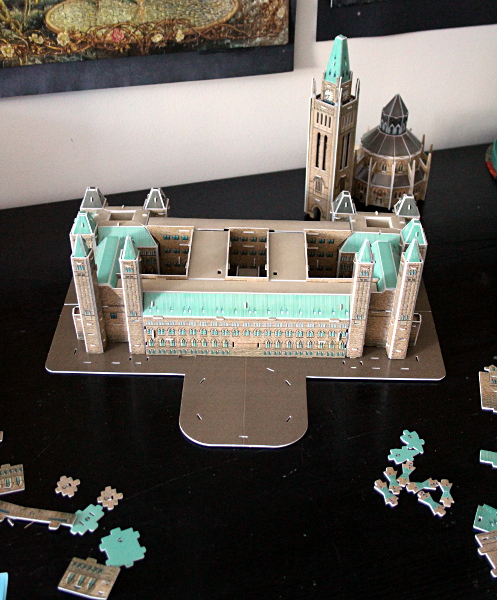 3D Parliament Puzzle - core, md