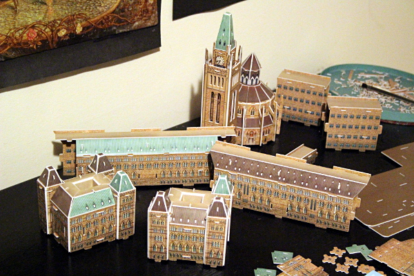 3D Parliament Puzzle - core separated, md