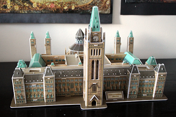 3D Parliament Puzzle - front full, md