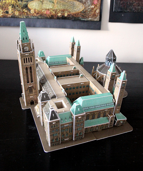 3D Parliament Puzzle - side 1, md