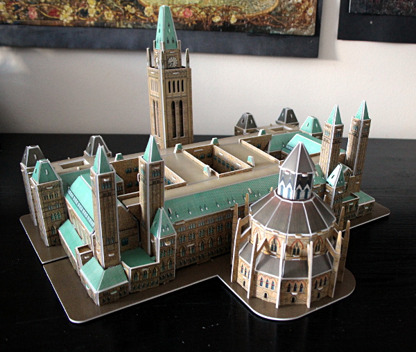 3D Parliament Puzzle - side 2, md