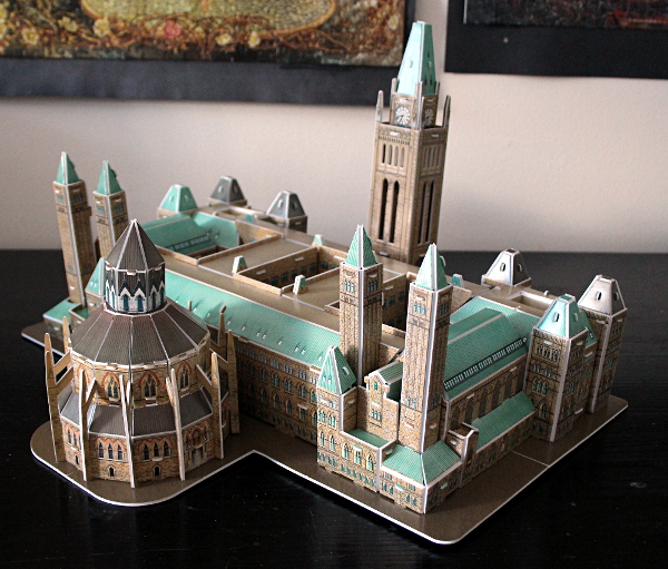 3D Parliament Puzzle - side 3, md