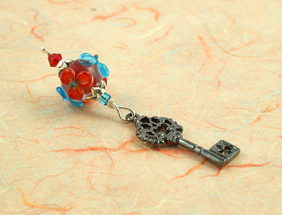Blessingway bead - Summer blooms secret key, take 2, md