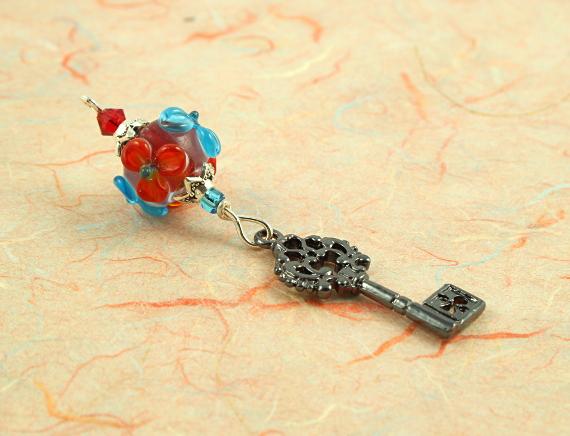 Blessingway bead - Summer blooms secret key, take 2, md