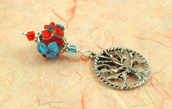 Blessingway bead - Summer blooms tree of life, take 2, md