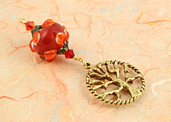Blessingway bead - Love Petals Tree of Life, sm