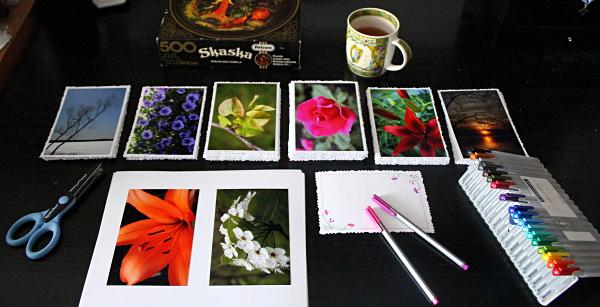 Postcards, md