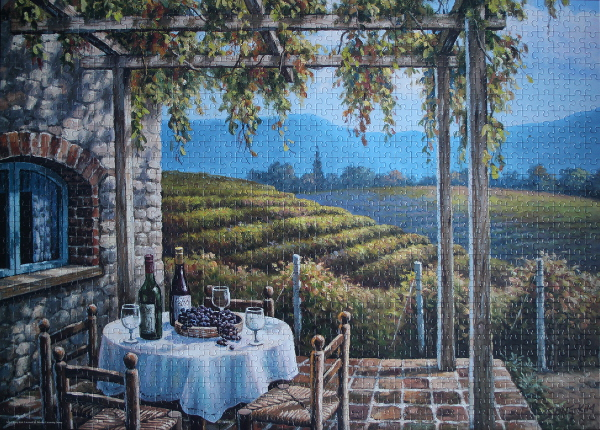 Sung Kim - Vineyard Terrace, med