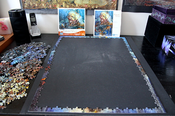 Foxfire puzzle - border assembled, med