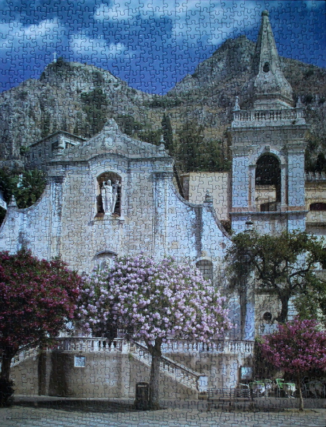 San Joseph Church, Sicily, Italy, med