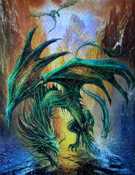Dragon of the Lake, med