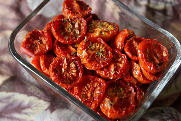 oven-dried tomatoes, md