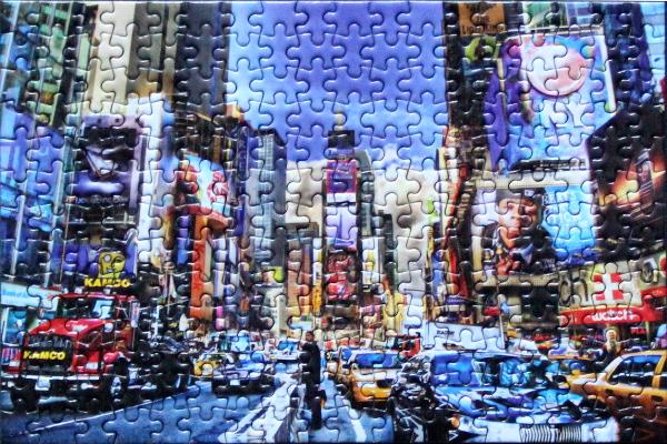 Tony Shi - Times Square, med