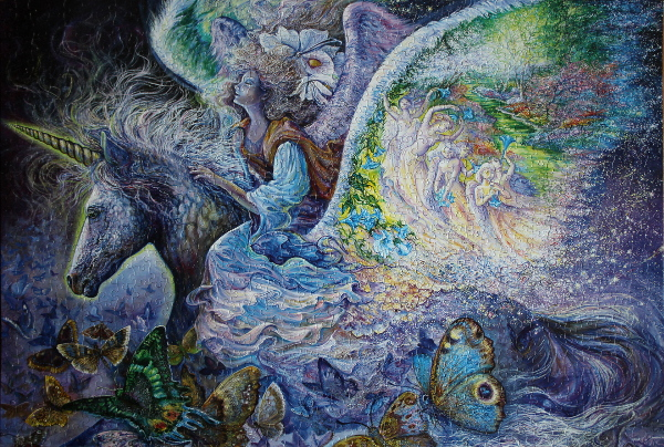 Josephine Wall - Wings, med