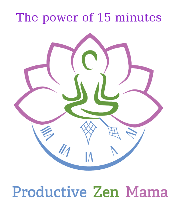 Productive Zen Mama - The Power of 15 Minutes