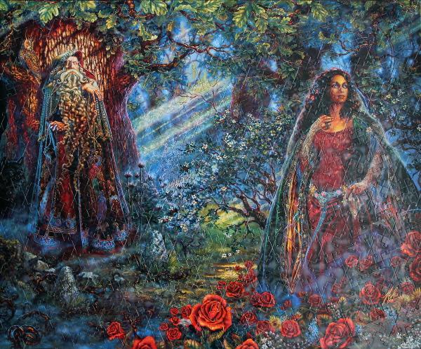 Merlin's Oak, med